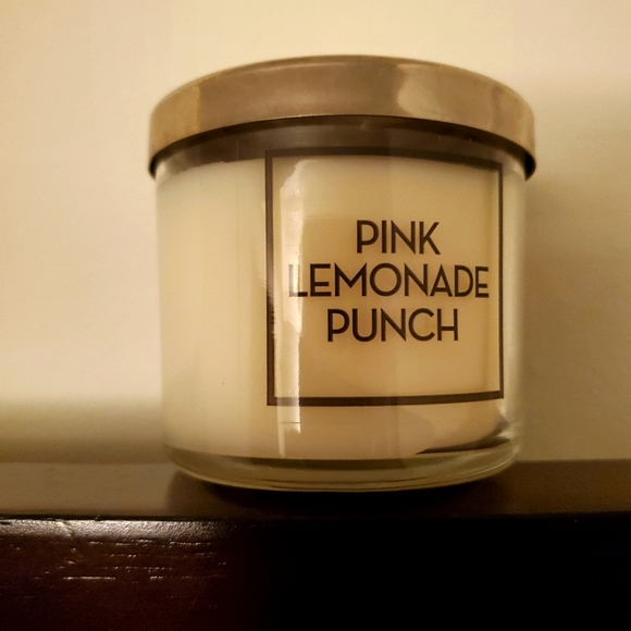 Bath And Body Works Pink Lemonade Punch Tester Can
